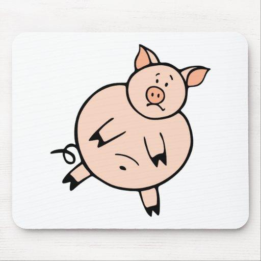 Fat Piggy Mouse Mat