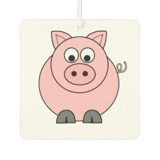 Fat Pink Pig Car Air Freshener