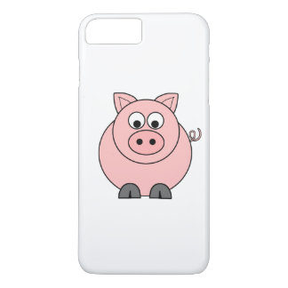 Fat Pink Pig iPhone 7 Plus Case