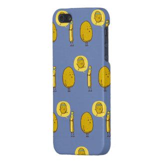 Fat potato against a weak potato iPhone 5 case