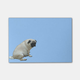Fat Pug Post-it Notes