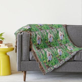 Fat Quail Throw Blanket