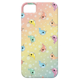 Fat Rainbow Narwhal Pattern iPhone 5 Case