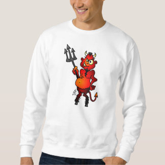 Fat red devil sweatshirt