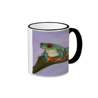 Fat Red Eyed Tree Frog Mug