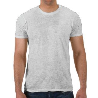 Fat Retro Rocket Ship Grey Gray Tee Shirt