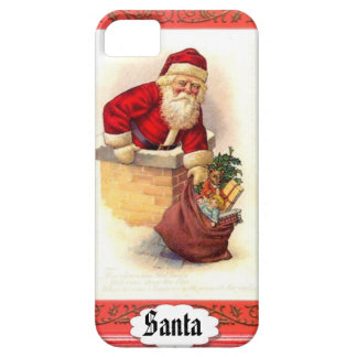 Fat Santa Christmas Phone Cover iPhone 5 Cover