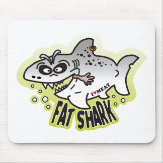Fat Shark Mouse Pad
