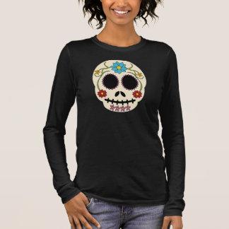 Fat Sugar Skull Long Sleeve Shirt