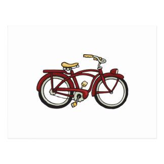 Fat Tire Bike Postcard