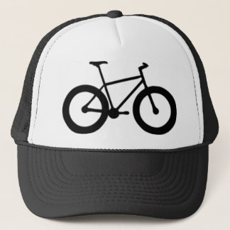 fat tired bicycle trucker hat