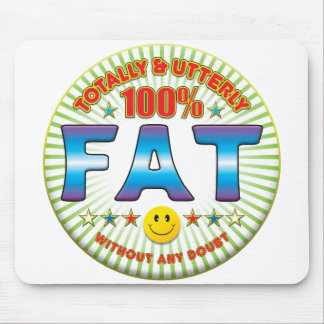 Fat Totally Mouse Mats