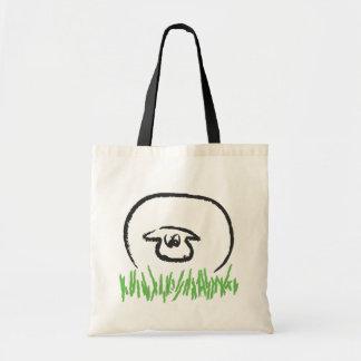 Fat White Sheep Tote Bag