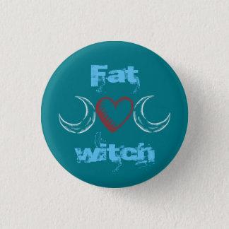 Fat witch (iW symbol) 3 Cm Round Badge