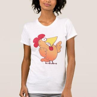 Fat Yellow Chicken T Shirt | Fat Chicken T-Shirt