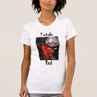 Fatale Red Ladies Performance Micro-Fiber Singlet T Shirts