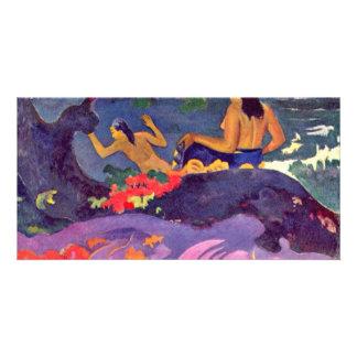 Fatata Te Miti By Paul Gauguin (Best Quality) Photo Card Template