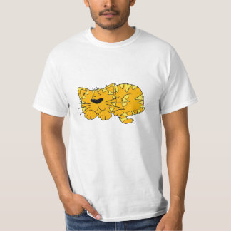 Fatcat Cute Cartoon Cat T-Shirt