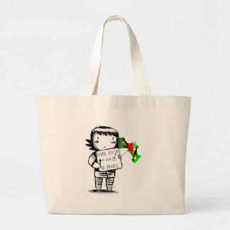 Fate in Brazil - girl Jumbo Tote Bag