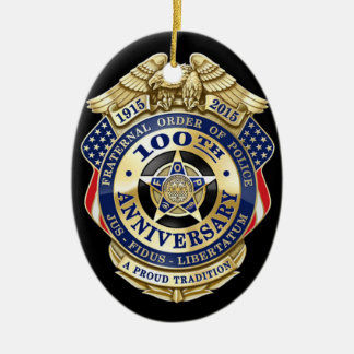 Faternal Order of Police Ornament
