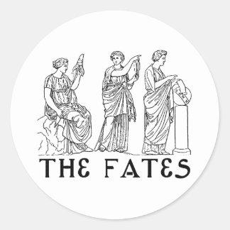 Fates Round Sticker