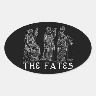 Fates Oval Sticker