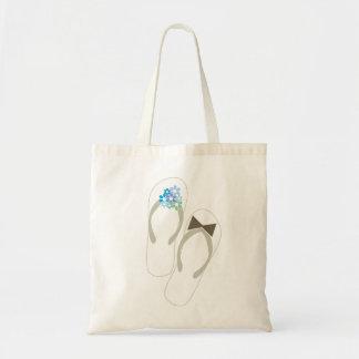 fatfatin Beach Aqua Flip Flops Wedding Gift Bag