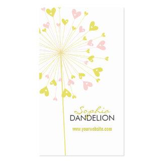 fatfatin Dandelions Love 05 Profile Card Business Card