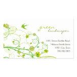 fatfatin Green Hibiscus Swirls & Swallows 2