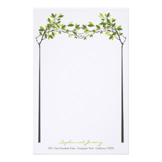 fatfatin Knotted Love Trees Wedding Stationery