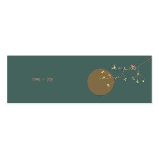 fatfatin Nesting Bird and Family 02 Profile Card Business Card Template