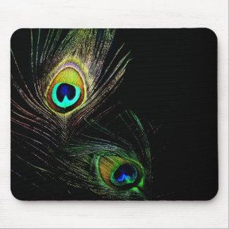 fatfatin Peacock Feathers Photo Mousepad