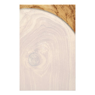 fatfatin Teak Wood Texture Photo Custom Flyer