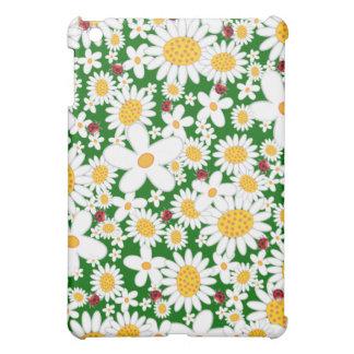 fatfatin White Daisies Ladybugs ®  Cover For The iPad Mini