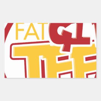 FatGirlTees 1 Sticker