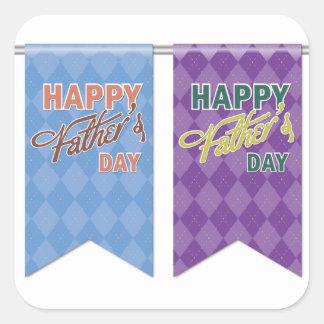 Father #12 square sticker