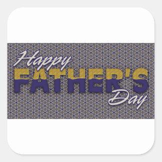 Father #13 square sticker