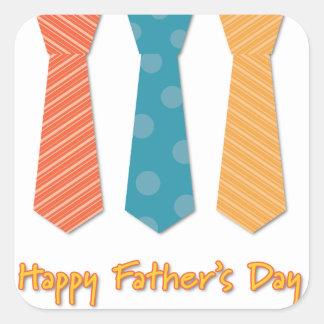 Father #8 square sticker