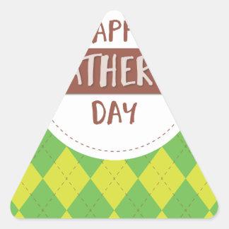 Father #9 triangle sticker