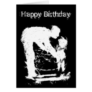 Father and Child Happy Birthday Card