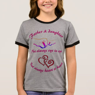 Father and Daughter Ringer T-Shirt