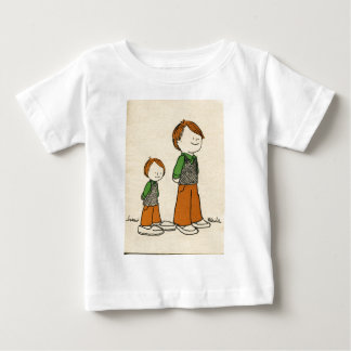 Father and Son Baby T-Shirt