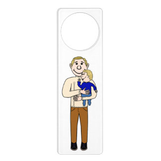 FATHER AND SON DOOR HANGER