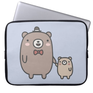 Father and Son Laptop Sleeve