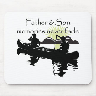 Father and Son Mouse Mat