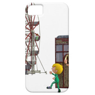 Father and Son ready to ride a Ferris Wheel iPhone 5 Cases