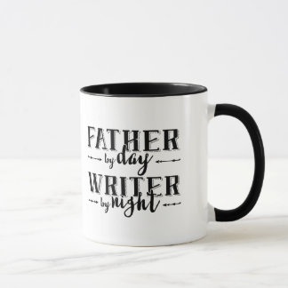 Father by day, Writer by night Mug