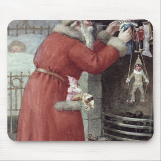 Father Christmas Mouse Pad