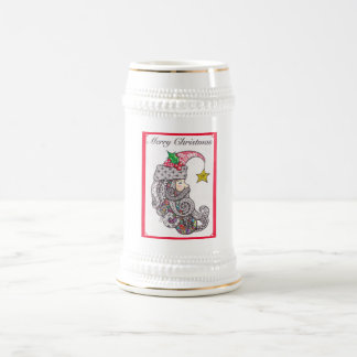 Father Christmas stein