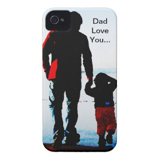 Father Dad Love You Case-Mate iPhone 4 Case